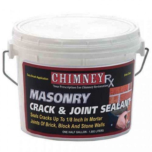 ChimneyRx Masonry Fireplace Crack & Joint Sealant - 1/2 Gallon