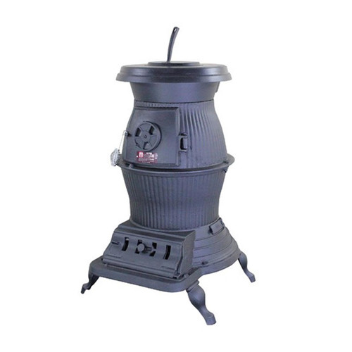 U.S. Stove 1869 Caboose Potbelly Coal Burning Stove