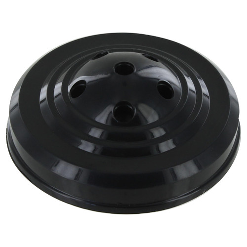 Black 6-Hole Weighted 4-Inch x 6-Inch Hand Flag Base