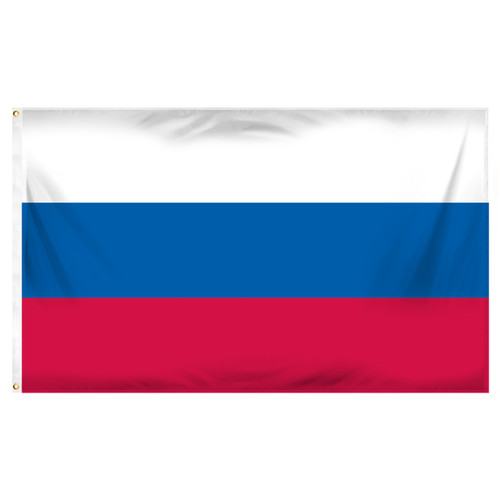 3ft x 5ft Russia Flag - Printed Polyester