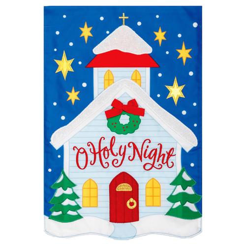 Christmas Garden Flag - O Holy Night