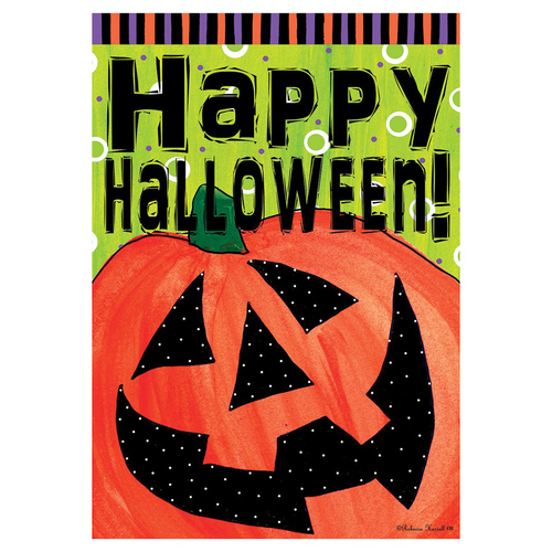 Halloween Garden Flag - Happy Jack