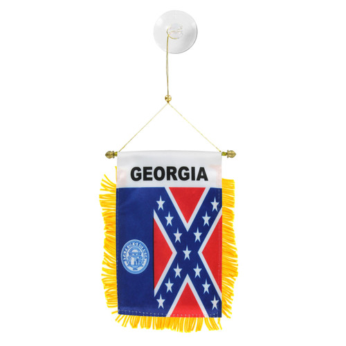 Georgia 1956-2001 Mini Window Banner