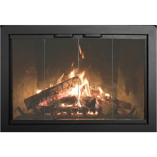 Beauregard Custom Masonry Fireplace Door