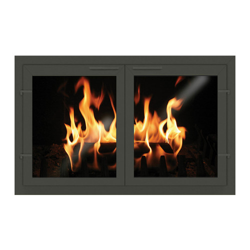 Normandy Eco-Tite Custom Masonry Fireplace Door