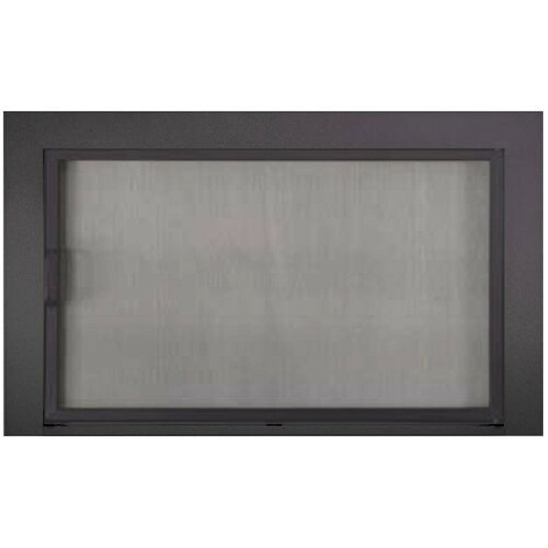 Reserve Clearview Mesh Stock Fireplace Door