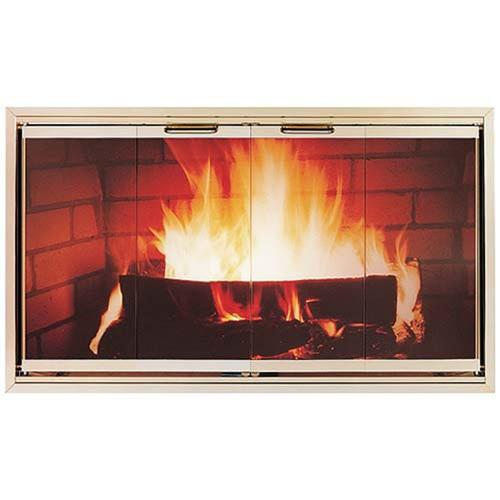 Z-Door Stock Zero Clearance Fireplace Door
