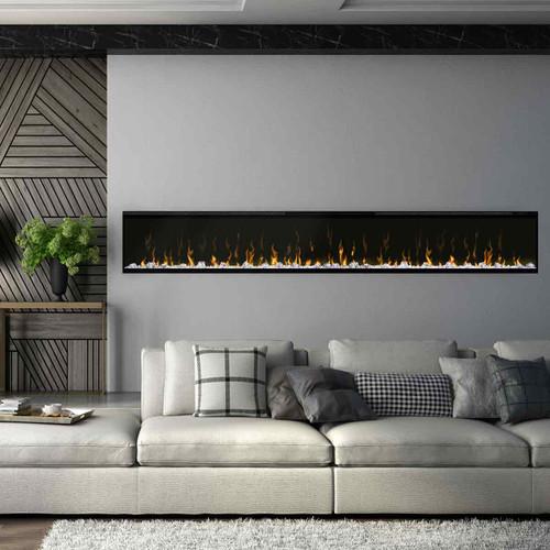 """100"""" IgniteXL Linear Electric Fireplace"""