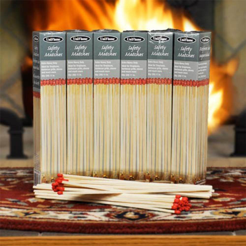 Heavy Weight Premium Fireplace Matches