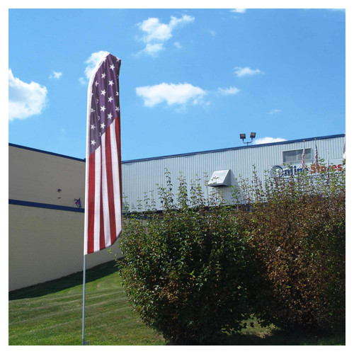 15-Foot Swooper Feather Flagpole Set