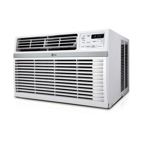 12,000 BTU 115V Window-Mounted Air Conditioner with Remote Control