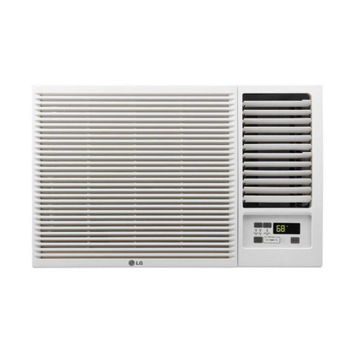 7,500 BTU 115V Window-Mounted Air Conditioner with 3,850 BTU Supplemental Heat Function