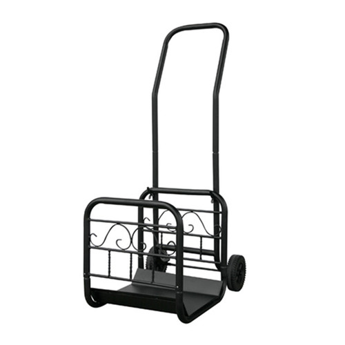 Large Firewood Rack Cart with Removable Wood Holder