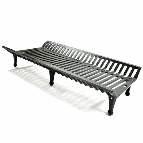 42'' Heavy-Duty Cast Iron Fireplace Grate - 442