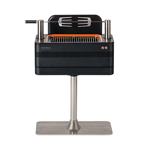Everdure FUSION 29-Inch Charcoal Grill With Rotisserie & Electronic Ignition