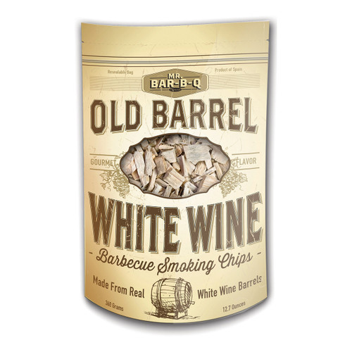 Mr. Bar-B-Q White Wine Barrel Chips