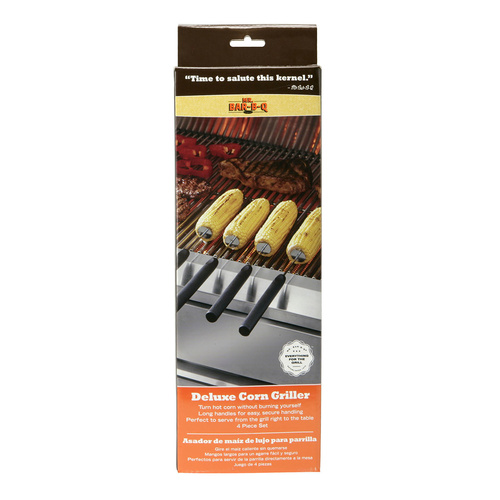 Mr. Bar-B-Q Deluxe Corn Griller - 4 Pieces