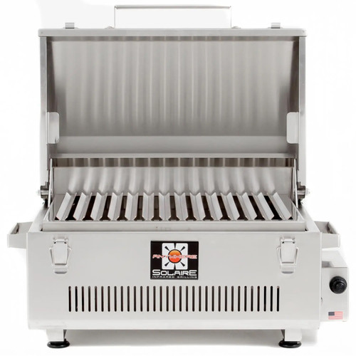Solaire Anywhere Infrared Grill Marine Grade 316 Stainless Steel - SOL-IR17M