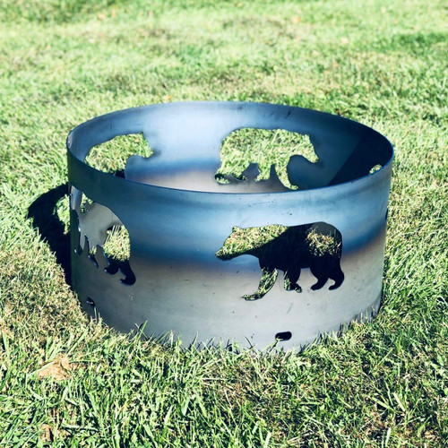 Bear Fire Pit Ring