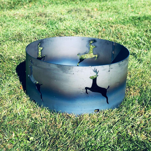 """Leaping Deer Fire Pit Ring- 30 """""""