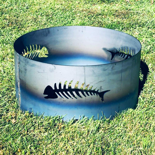 Fish Fire Pit Ring- 30