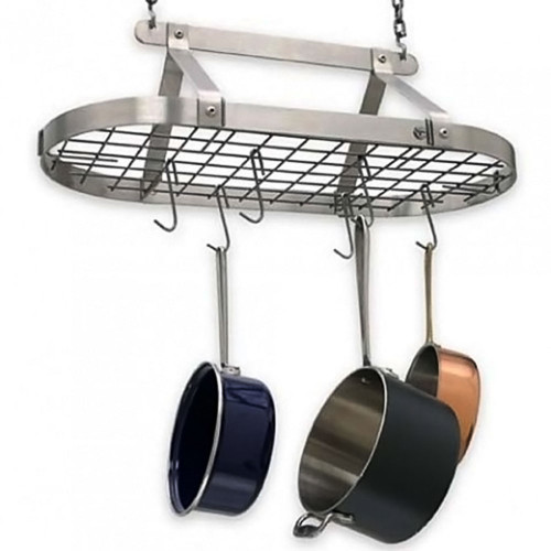 Decor Classic Oval Rack-Stainless Steel