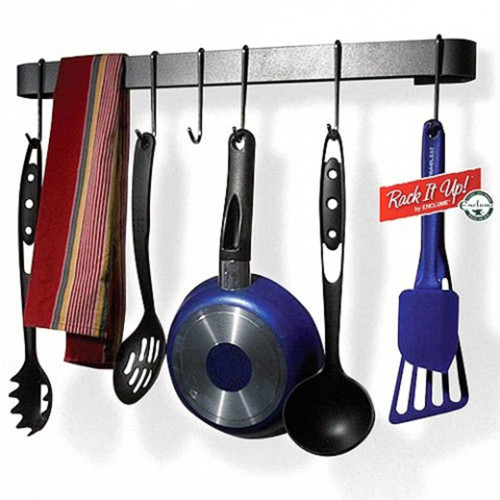 Rack it Up Utensil Bar/Pot Rack