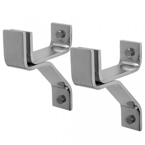 4'' Wall Brackets-Stainless Steel