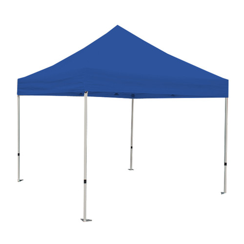 King Canopy 10' x 10' Canopy with Blue Cover
