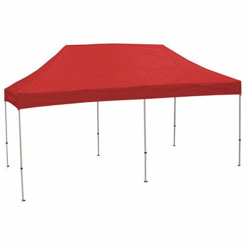 King Canopy 10' x 20' Tuff Tent Canopy - Red