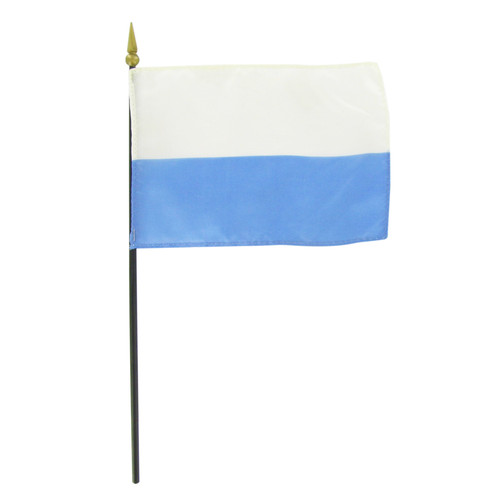 "San Marino 4"" x 6"" Stick Flag - No Seal"