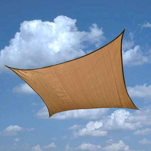 Shelter Logic 12 x 12 Foot Square Sun Shade Sail