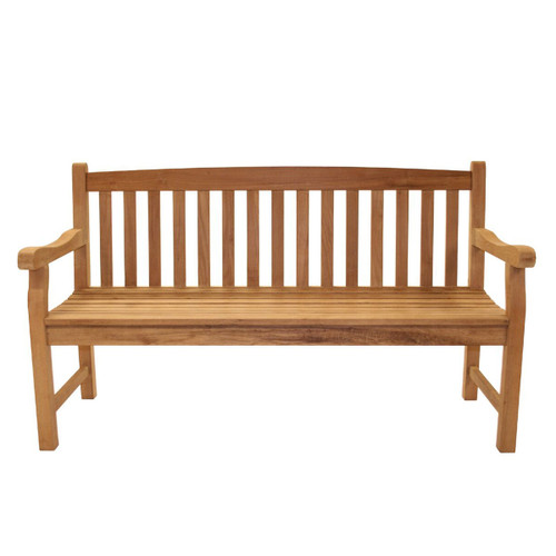 Classic Teak Three-Seater Bench