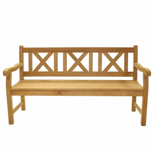 "60"" Teak Skipper Bench"