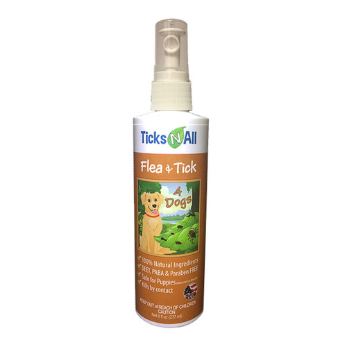 Flea & Tick Repellent for Dogs- 8 oz