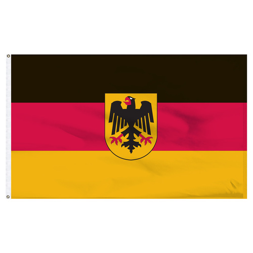 Germany 5' x 8' Nylon Flag With Eagle