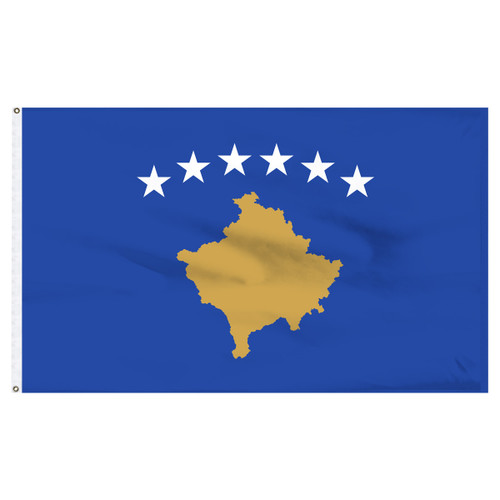 Kosovo 5' x 8' Nylon Flag