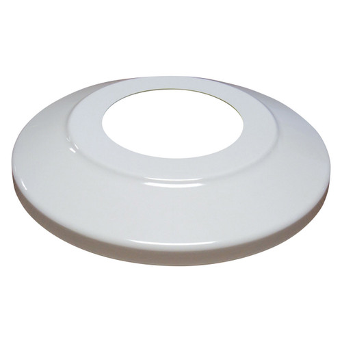 White Aluminum Flash Collar 4""