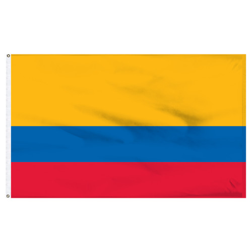 "Ecuador 12"" x 18"" Nylon Flag - No Seal"