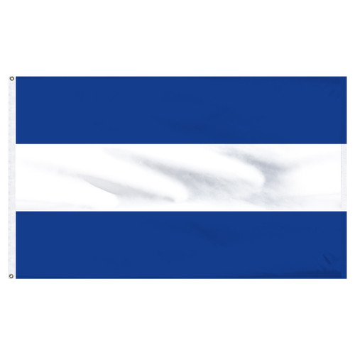 "El Salvador 12"" x 18"" Nylon Flag - No Seal"