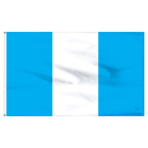 "Guatemala 12"" x 18"" Nylon Flag - No Seal"