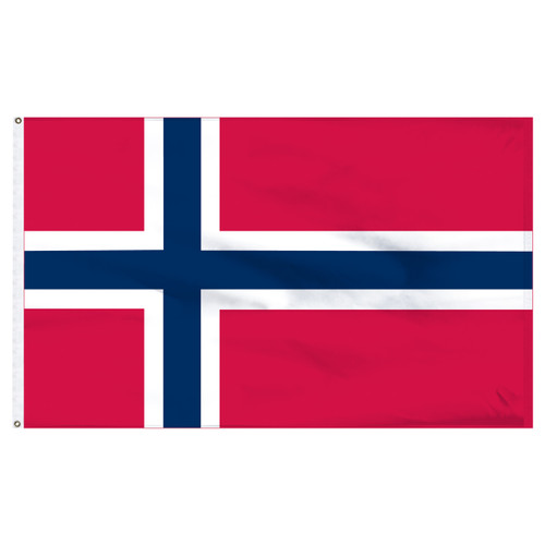 "Norway 12"" x 18"" Nylon Flag"