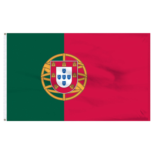 "Portugal 12"" x 18"" Nylon Flag"