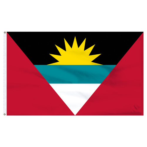 Antigua and Barbuda 6ft x 10ft Nylon Flag