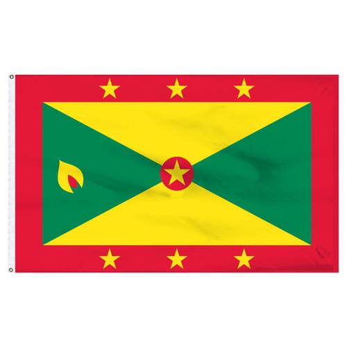 Grenada 6' x 10' Nylon Flag