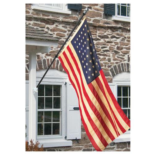 Banner Flag Pole Kit - Black