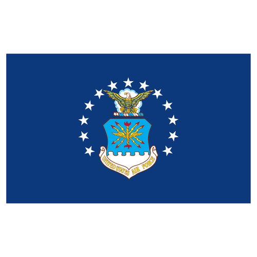 US Air Force Flag 4ft x 6ft Heavy Duty Spun Polyester