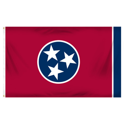 Tennessee 3ft x 5ft Spun Heavy Duty Polyester Flag