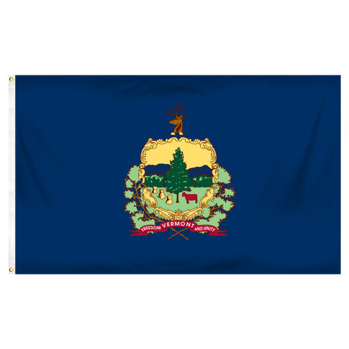 Vermont 4ft x 6ft Spun Heavy Duty Polyester Flag