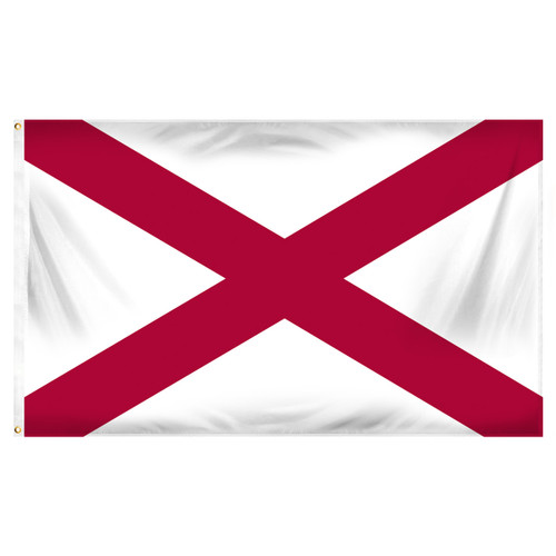 Alabama 5ft x 8ft Spun Heavy Duty Polyester Flag